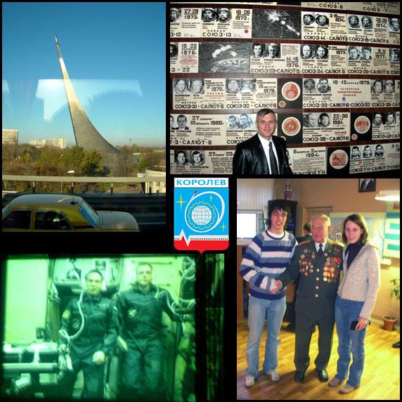 Korolev und Kosmonauten